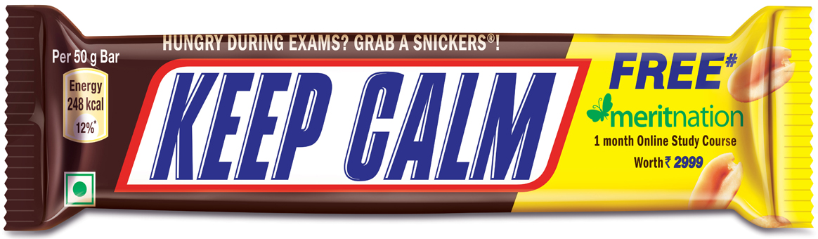 Through the limited-edition launch via BBDO India Snickers tells consumers Exams can be stressful don't let hunger add to it