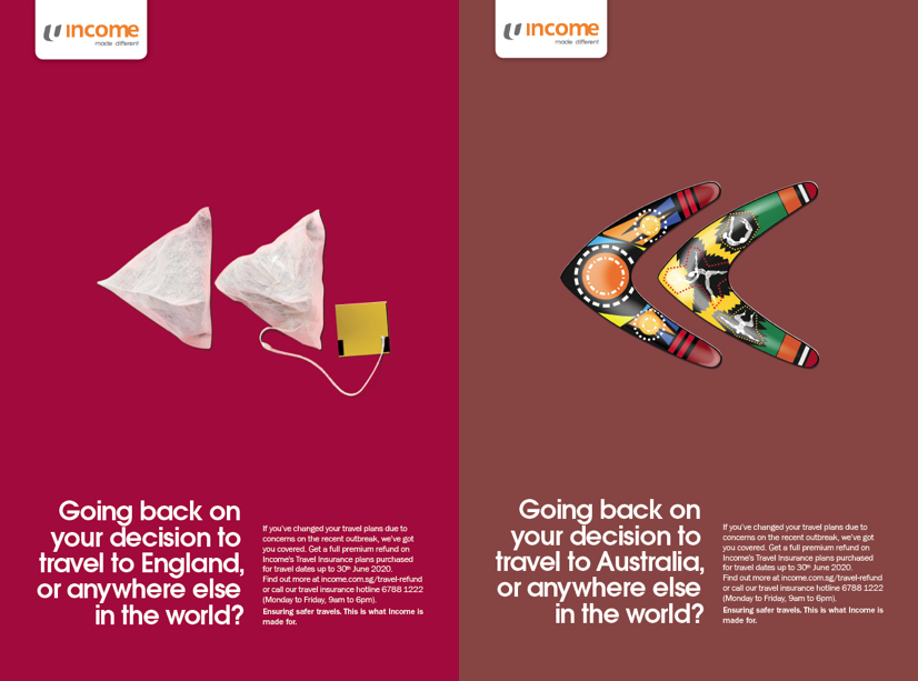Income ensures safer travels in a campaign via BBH Singapore
