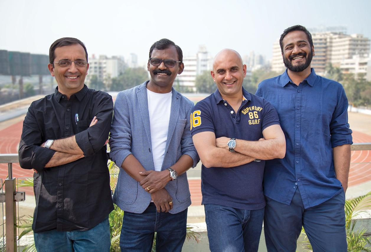Underdog Mumbai's Vikram Gaikwad and Vistasp Hodiwala team up with Roy Menezes and Pushkarraj Mehta to launch new agency Centrick