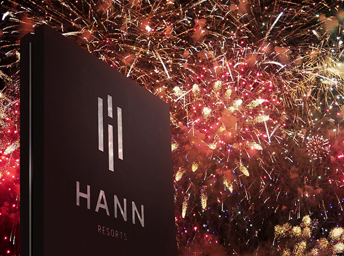 Eight Partnership Hong Kong lanches branding for Hann Resorts in the Philippines