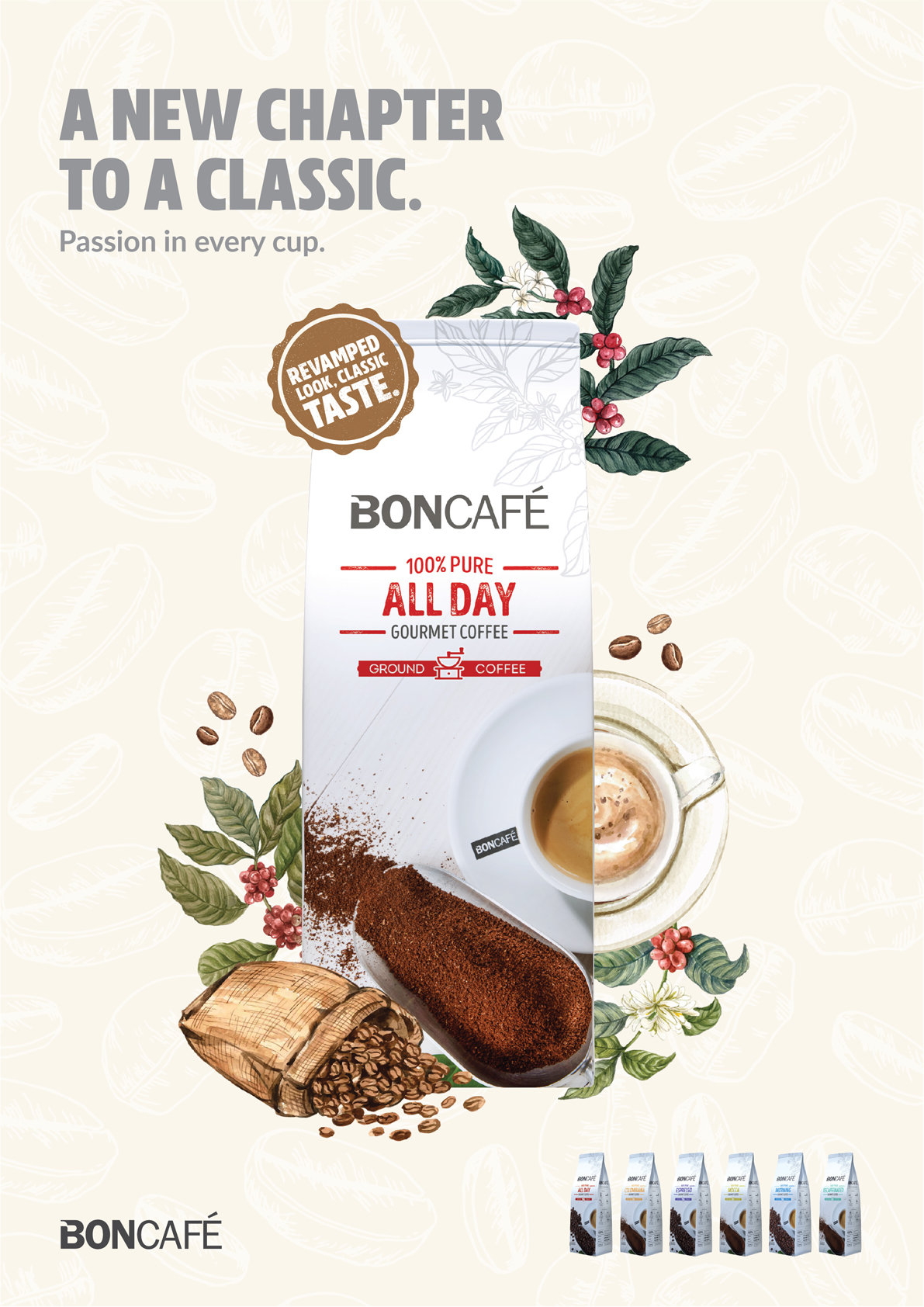 ZOO Group Singapore creates a new look for Boncafe