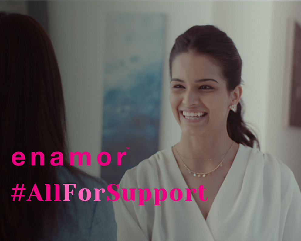 Enamor and Tonic Worldwide remind how women can be a bit more with #AllForSupport