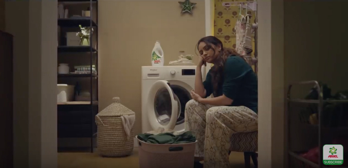 Ariel and BBDO India continue to urge men to share the load because 71% of women sleep less than their husbands