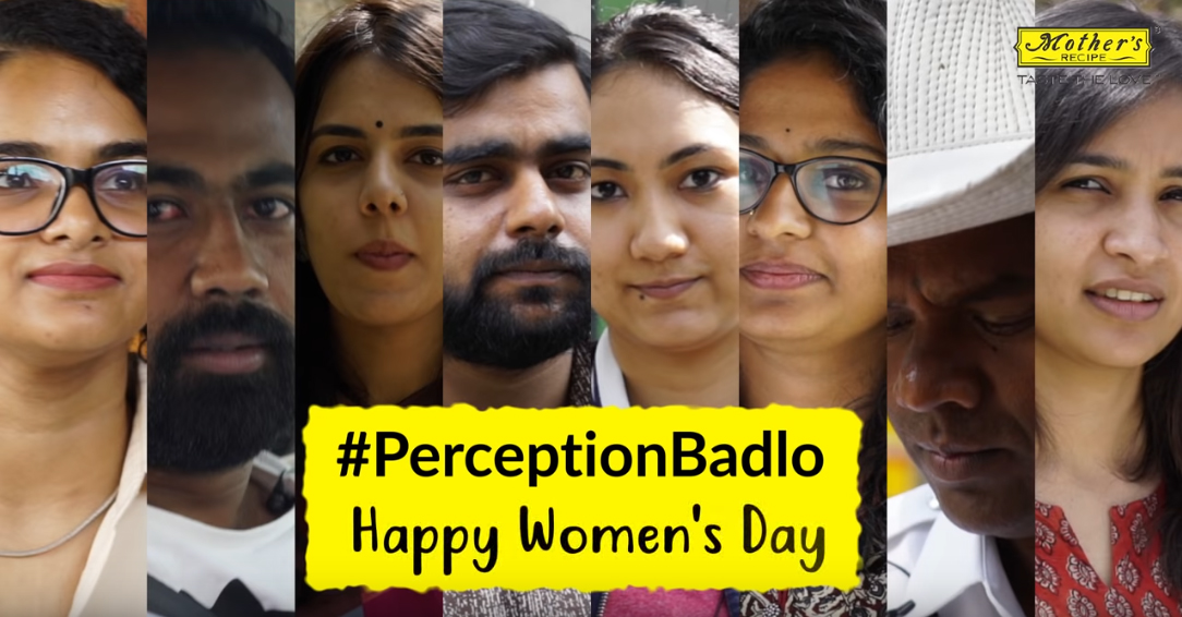 Mother's Recipe #PerceptionBadlo campaign via Social Panga India highlights the stereotypical comments against women