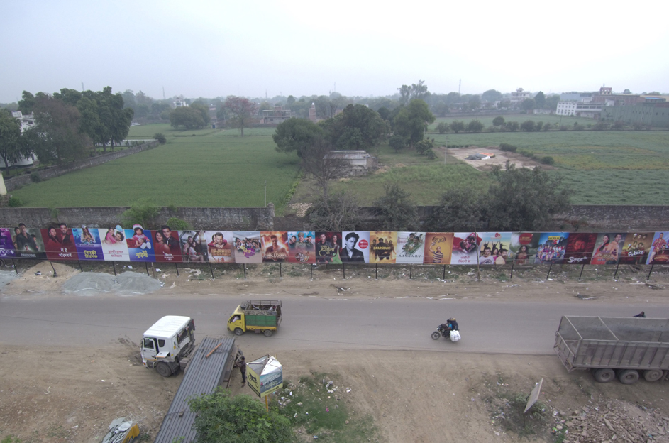 The Social Street rolls out India's longest billboard to showcase Hotstar's range of content