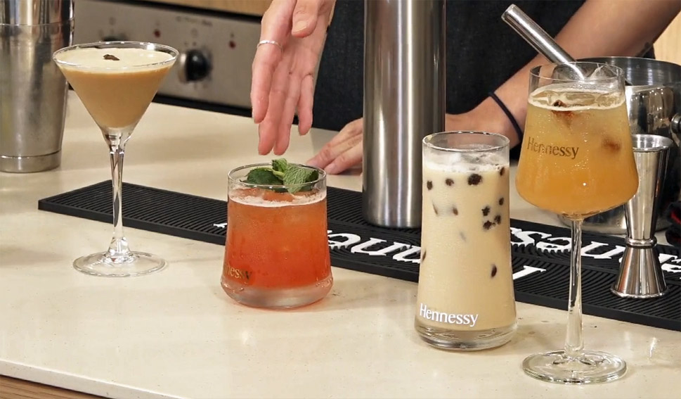 Hennessy uses home kitchen ingredients for art of making cocktails online series