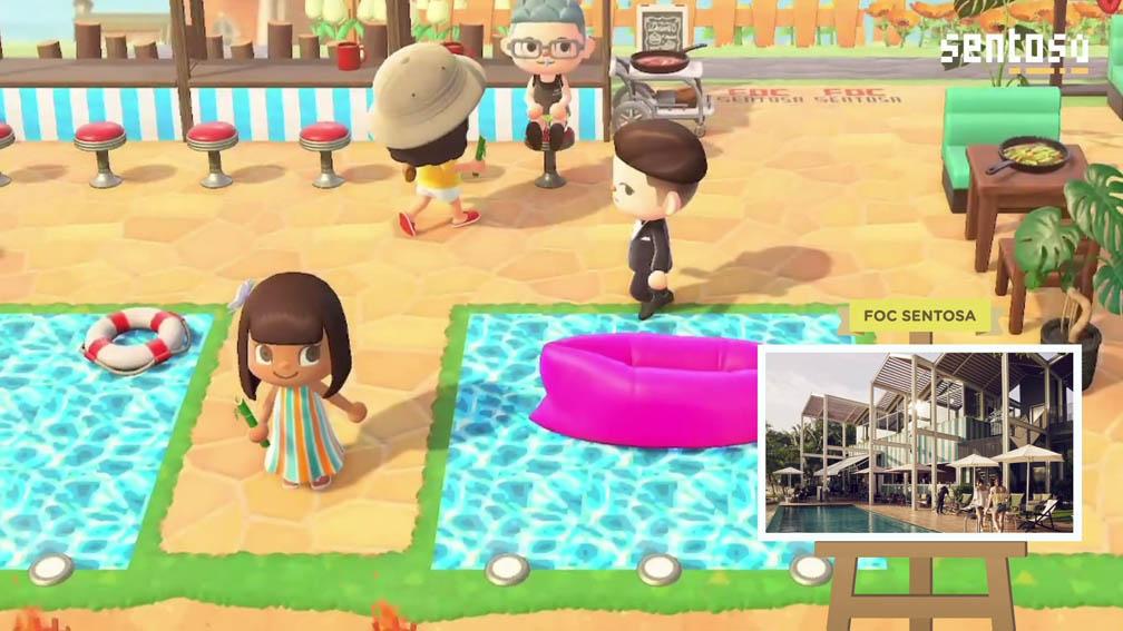 BBH Singapore develops virtual Sentosa island getaway on Nintendo Switch's Animal Crossing