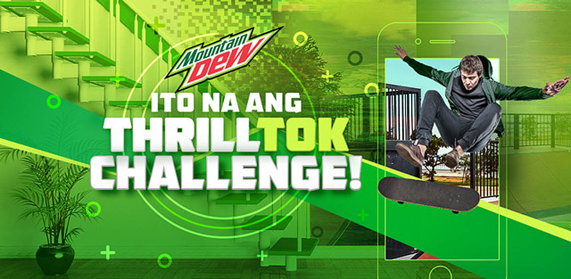 Mountain Dew Philippines launches ThrillTok Challenge for stay at home thrill seekers via BBDO Guerrero