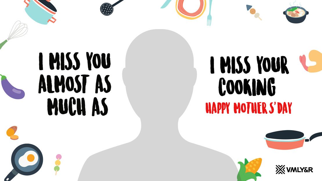 VMLY&R Singapore releases tongue in cheek Mum-E-Cards celebrating Mother's Day