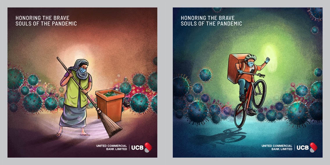 Grey Dhaka launches new UCB tribute campaign to honour Bangladesh's frontline workers