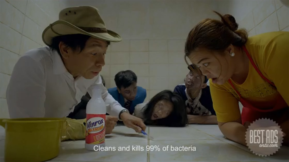 GIGIL Philippines recreates 'Train to Busan' in humorous new campaign for Winrox bleach
