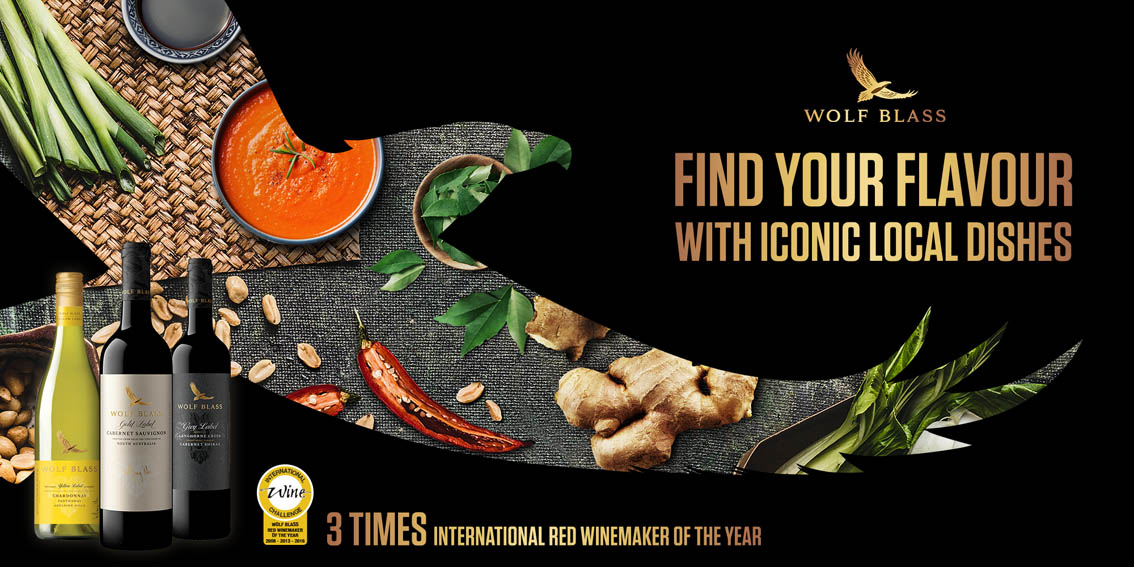 Wunderman Thompson Singapore launches new cooking guide under the Wolf Blass 'Find Your Flavour' campaign
