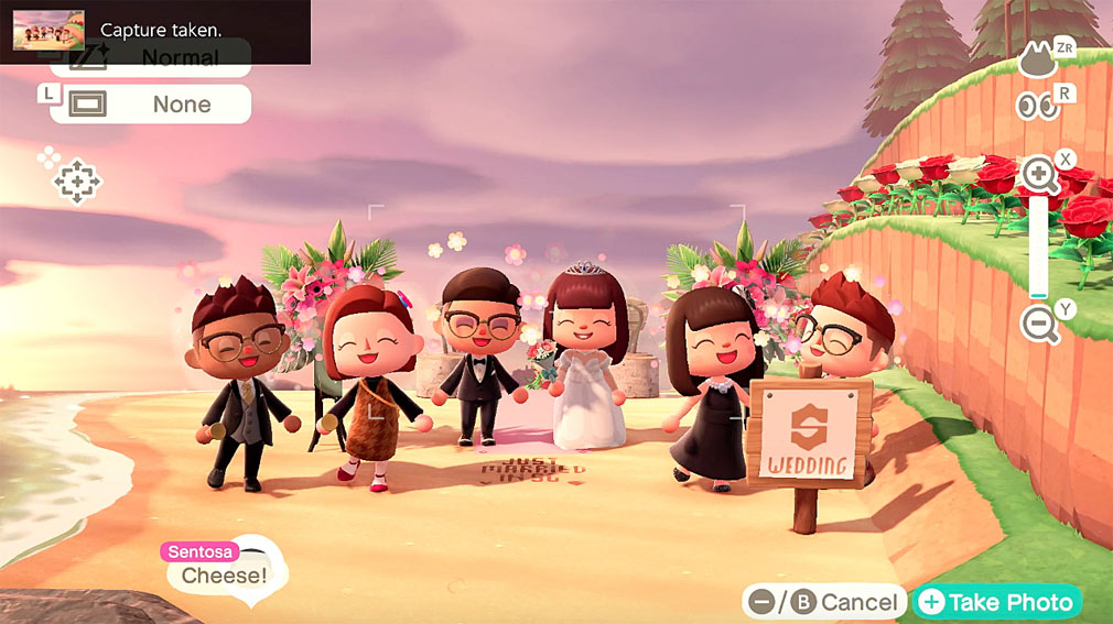Sentosa hosts a virtual wedding celebration on Animal Crossing via BBH Singapore