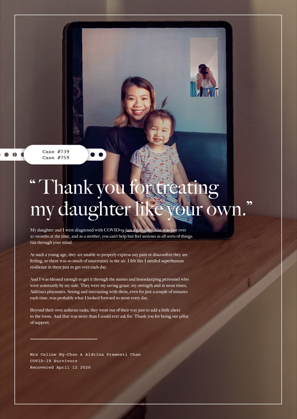 BBDO Singapore and OMD help enable COVID-19 survivors to voice their gratitude for frontliners