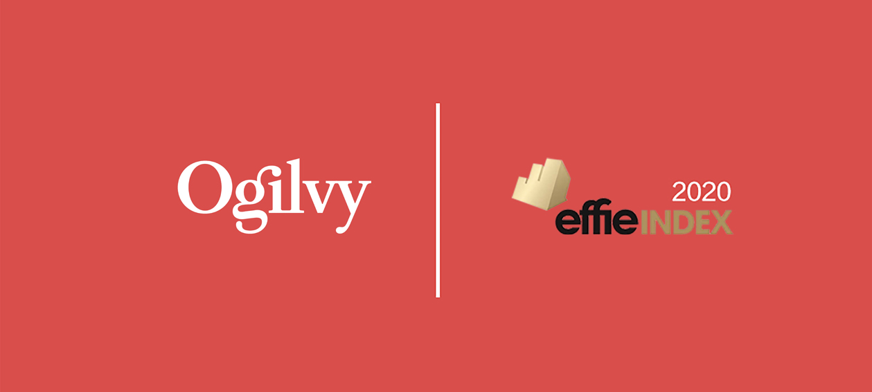 Ogilvy named Greater China's Most Effective Agency Network in the 2020 Effie Index