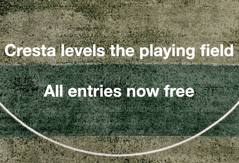 Cresta Awards axes all entry fees for 2020 to create level playing field