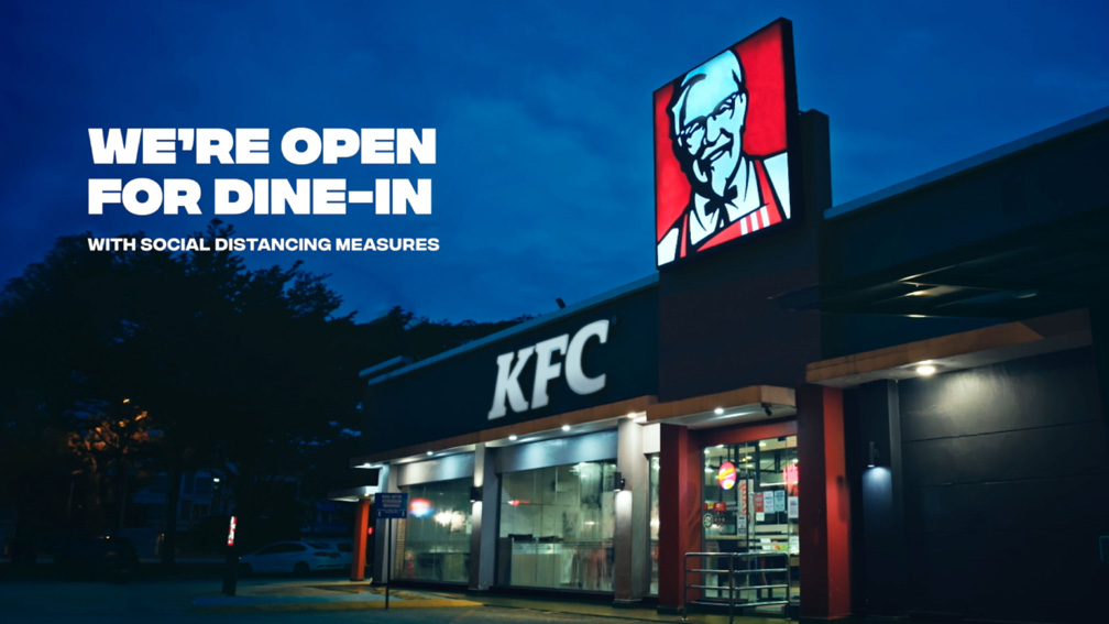 Naga DDB Tribal Malaysia and KFC serenade customers with 86-track playlist as dine-in services reopen