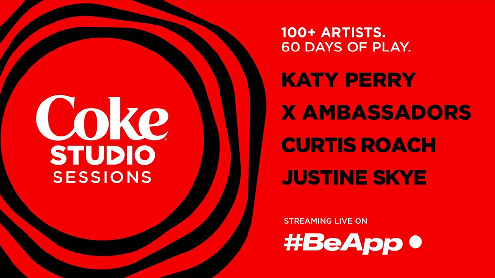 Live music streaming platform #BeApp and Coca-Cola launch Coke Studio Sessions