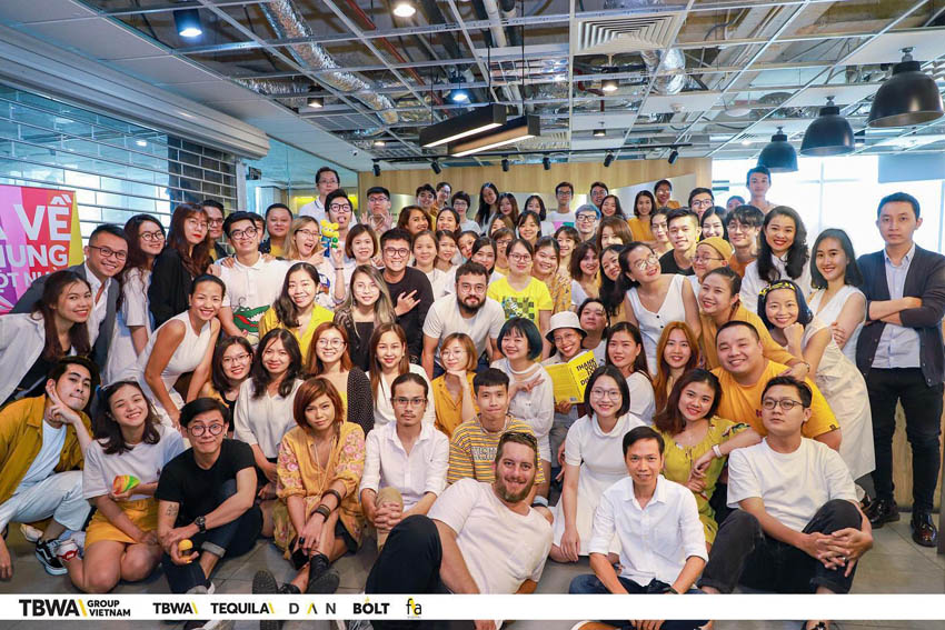 TBWA\Group Vietnam merges f\adigital into the agency collective
