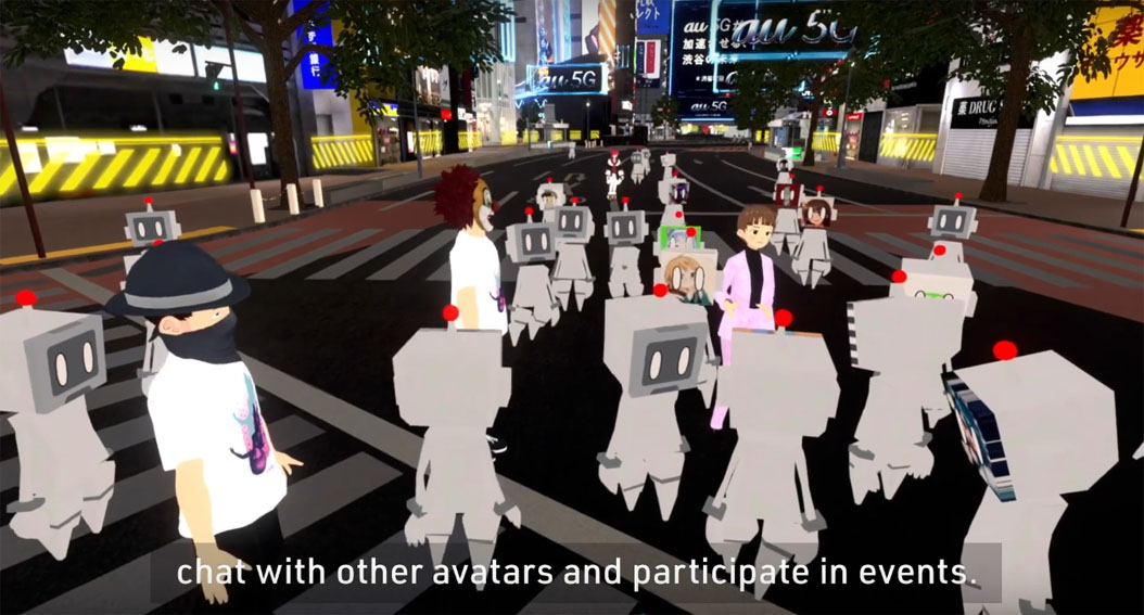 Streaming platform 'Virtual Shibuya' showcases a city in the era of new and better normal via Geometry Ogilvy Japan