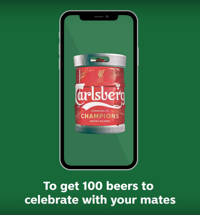 Carlsberg Malaysia and Grey Malaysia creates virtual keg to celebrate Liverpool's Premier League title