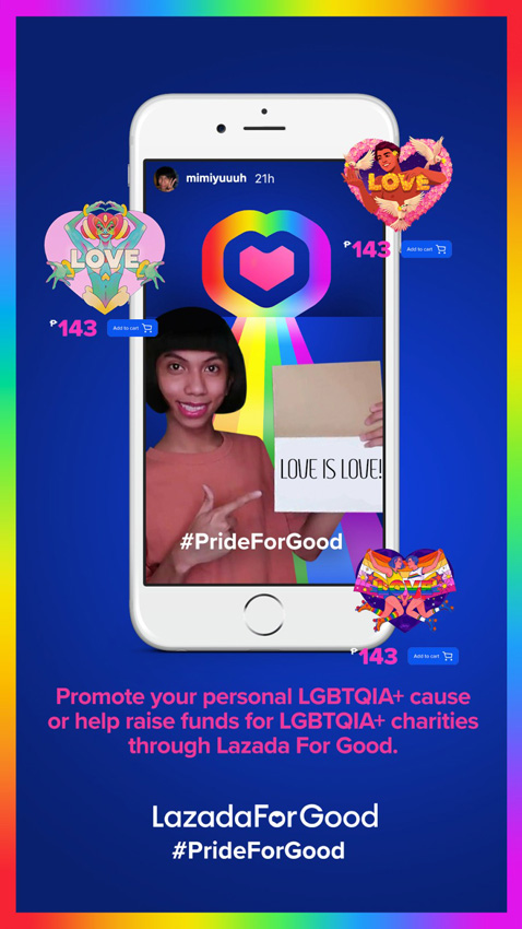 Lazada and Publicis JimenezBasic Philippines celebrate Pride Month with Pride is aLIVE show