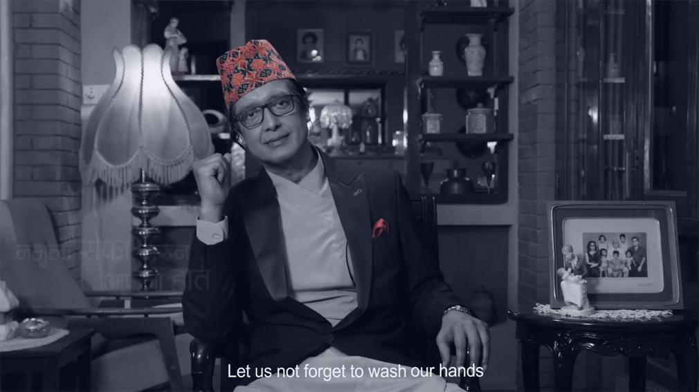 Unilever Nepal and Unicef release social initiative starring Rajesh Hamal via Outreach Nepal
