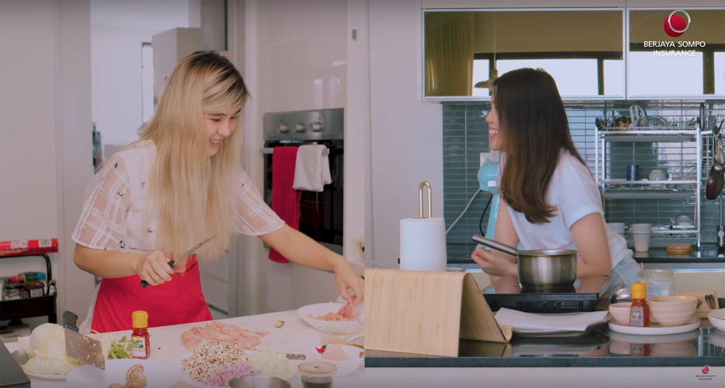 Berjaya Sompo Insurance find food, fun and fitness in this new normal web series via FCB Malaysia