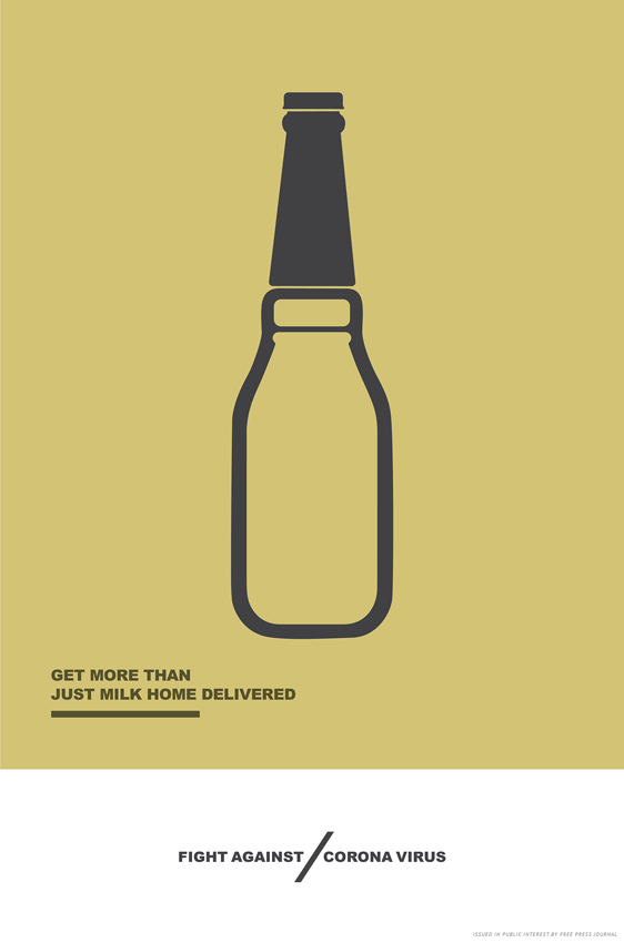 Taproot Dentsu India runs 58 consecutive COVID-19 awareness print ads each day in the Free Press Journal