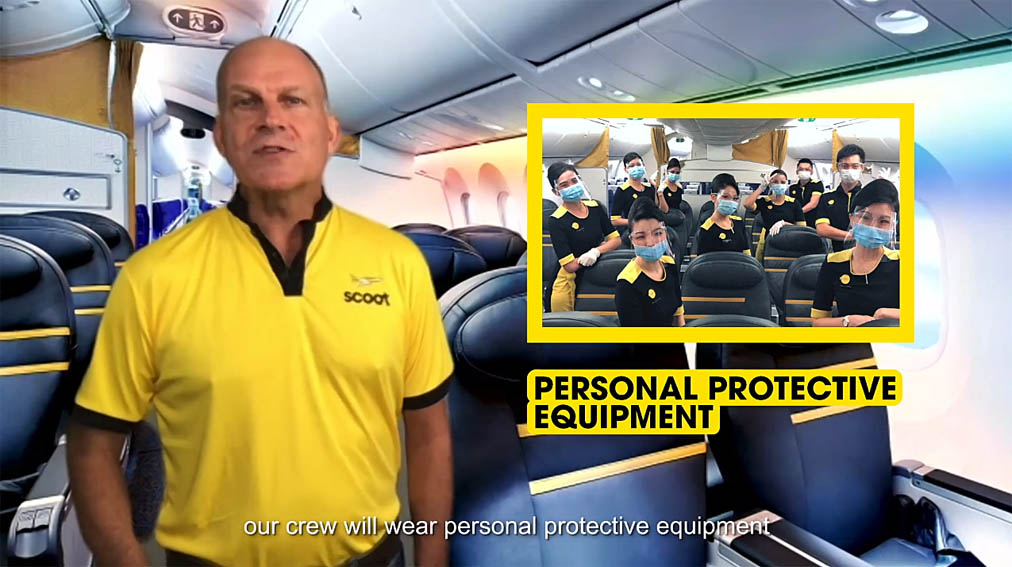 Scoot CEO explains new safety measures in place in latest campaign for the low cost airline via BLKJ Singapore