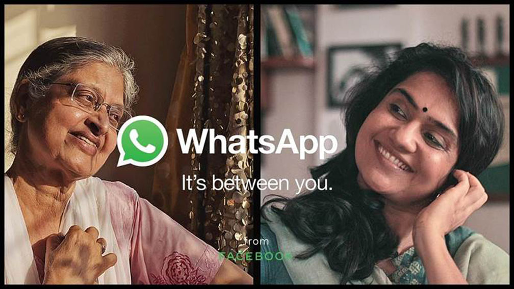 Social distancing doesn't mean emotional distancing says WhatsApp's first brand campaign in India created by BBDO India