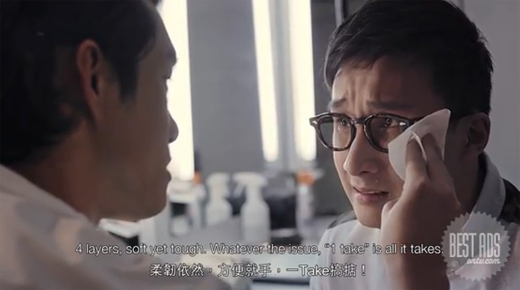 Leo Burnett Hong Kong introduces Tempo's new soft pack tissue via spoof campaign of Hong Kong movies