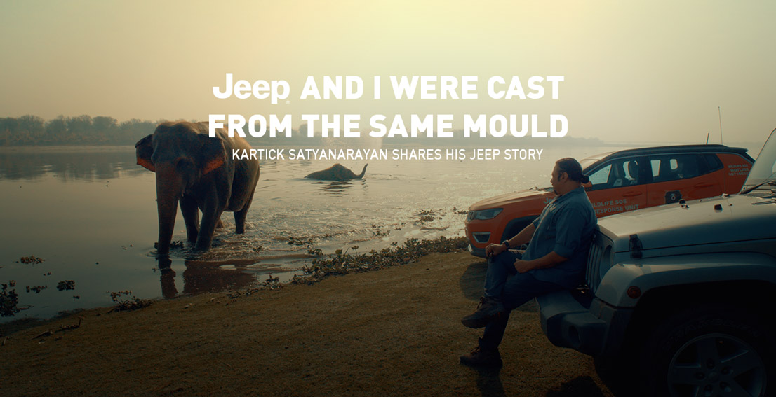 Digitas India launches 'My Jeep Story' showing the bond Jeep SUV owners have with nature