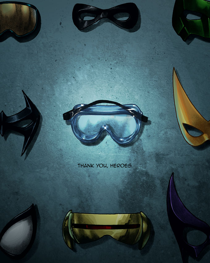 Top Philippine comic book artists teamed up with Wunderman Thompson Philippines to thank all the frontline heroes
