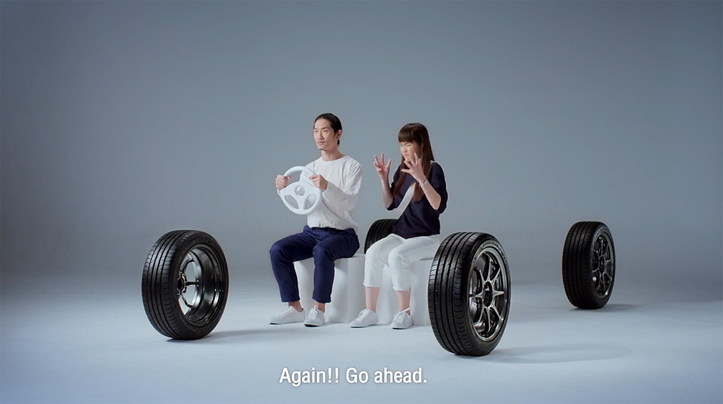 Workkit Bangkok releases series of short pre-roll ads for Goodyear Thailand that controls your partner