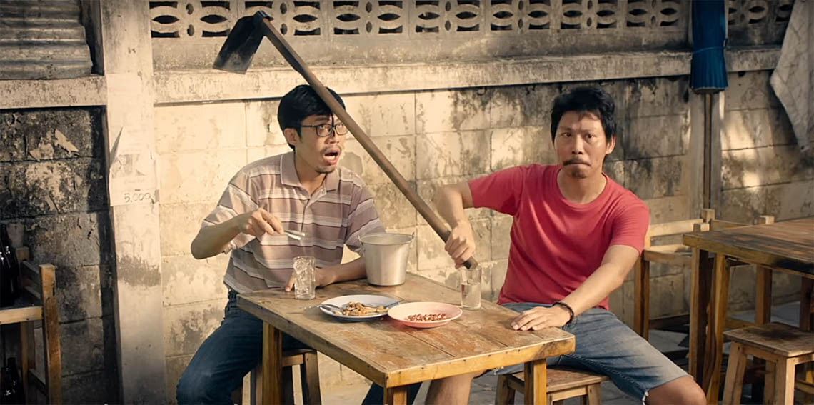 Leo Burnett Bangkok replaces the bottle with work tools in latest film for Thai Health Promotion Foundation