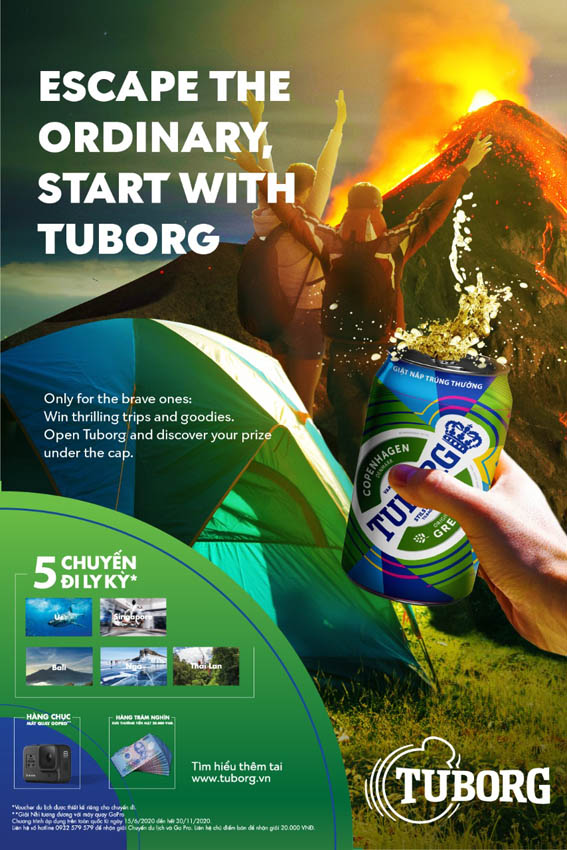 Happiness Saigon escapes the ordinary with Tuborg Vietnam in new campaign