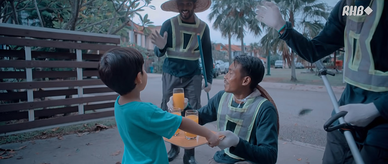 RHB Bank urges Malaysians to continue doing the right thing in new film via FCB Kuala Lumpur