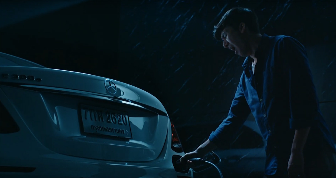 Publicis Emil Thailand inspires Mercedes-Benz owners to change their habits with 'Charge to Change' campaign