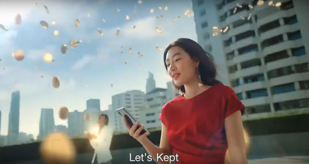 The Leo Burnett Group Thailand showcases how easy it can be to save money with the Bank of Ayudhaya money saving app Kept by Krungsri