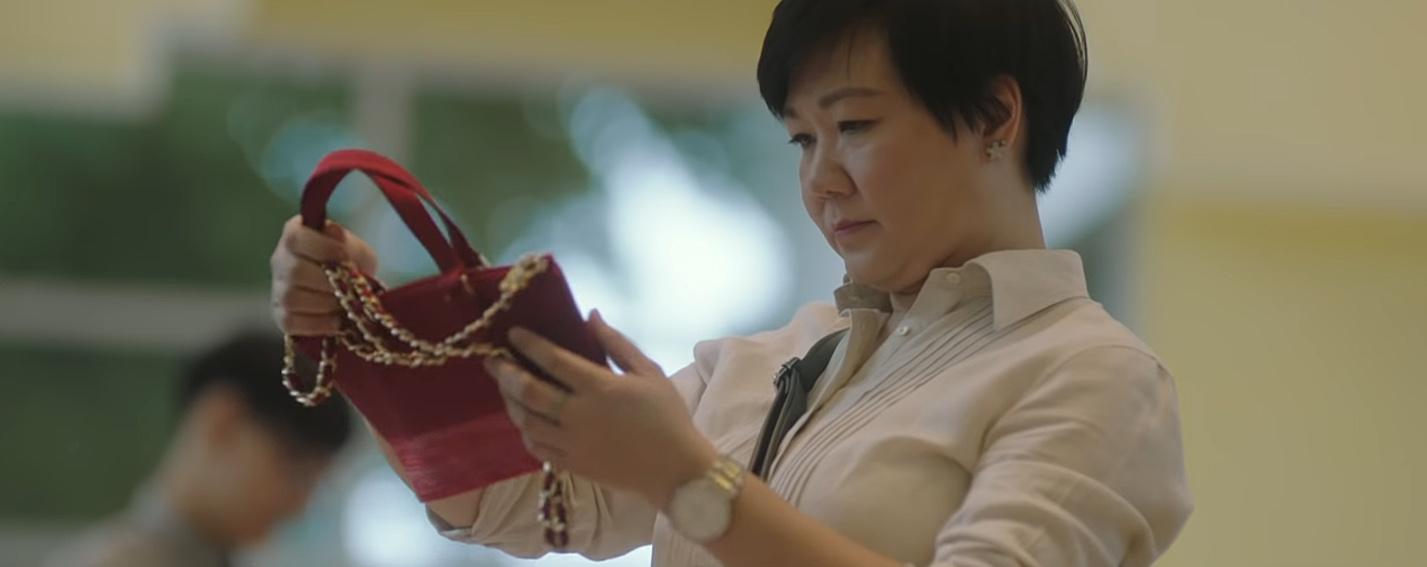 Dentsu One Bangkok tells the story of the the Bangkok Bag with company founder Wasna Roongsaenthong Lathourus