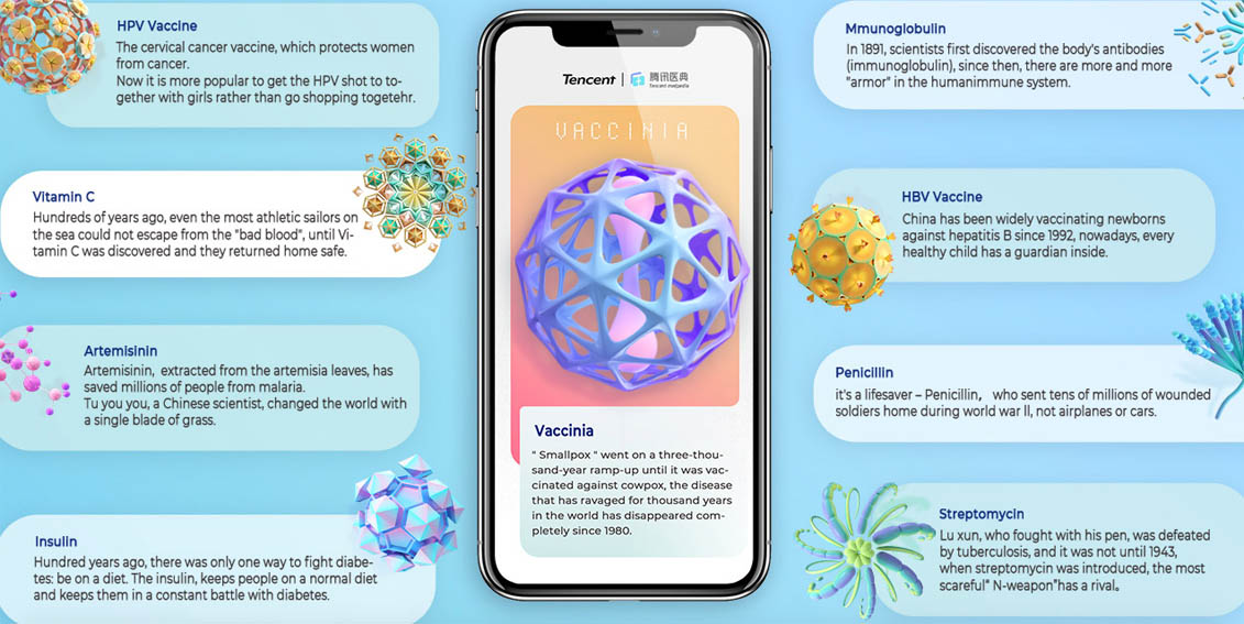 Tencent/Shanghai G11 Advertising launches interactive campaign for Tencent Medipedia raising awareness on medical science