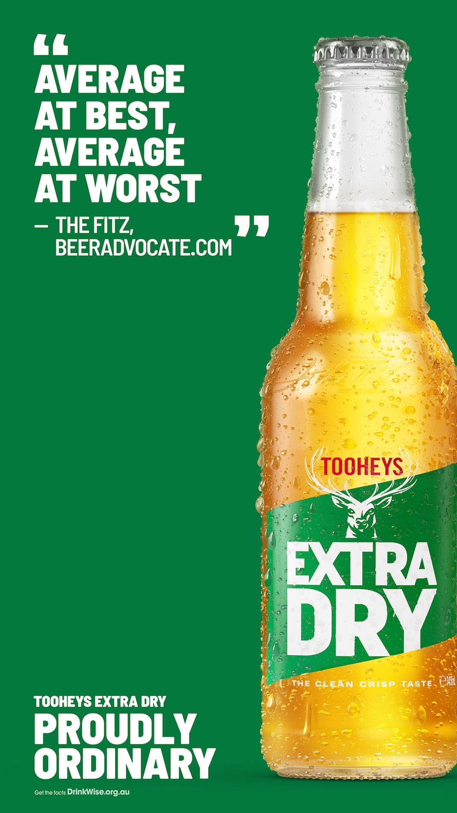Tooheys Extra Dry celebrates their 'Proudly Ordinary' Aussie beer in animated campaign via 72andSunny