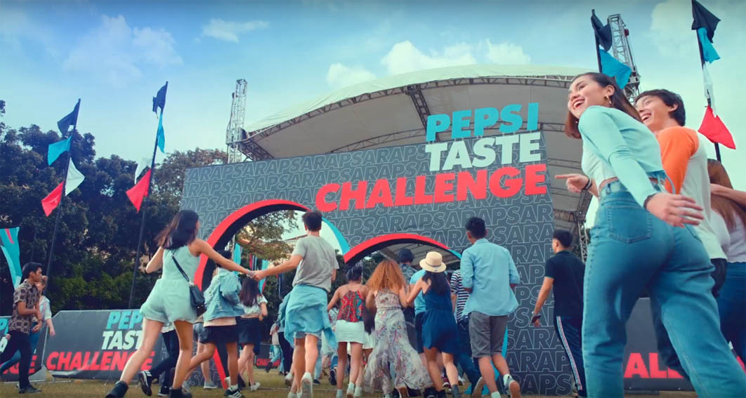 BBDO Guerrero Philippines' taste test campaign sees a 77% preference for Pepsi