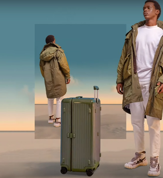 #legend Hong Kong launches new work for luxury luggage brand Rimowa inspired by the North American Mojave Desert