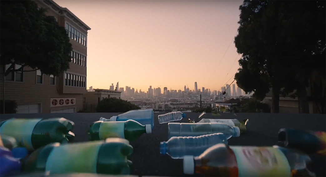 IKEA recycles plastic bottles to find them a second purpose in this campaign via Wieden+Kennedy Shanghai