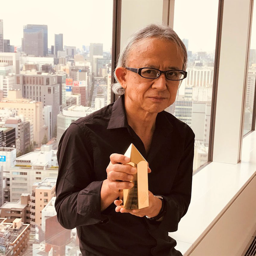 Dentsu's Yuya Furukawa becomes first asian to receive the D&AD President's Award