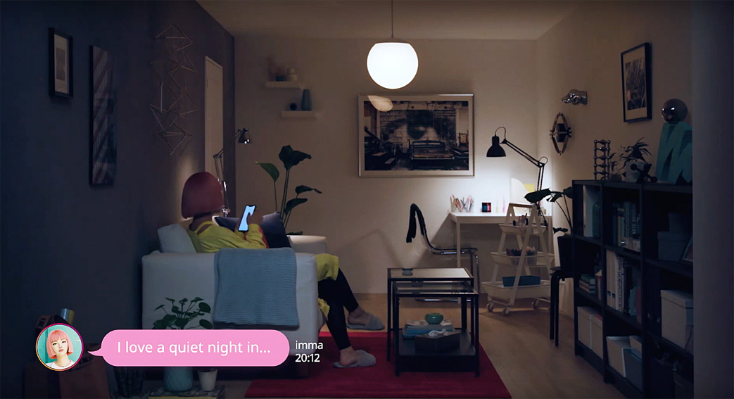Wieden+Kennedy Tokyo brings Japan's first virtual model to life for this IKEA campaign