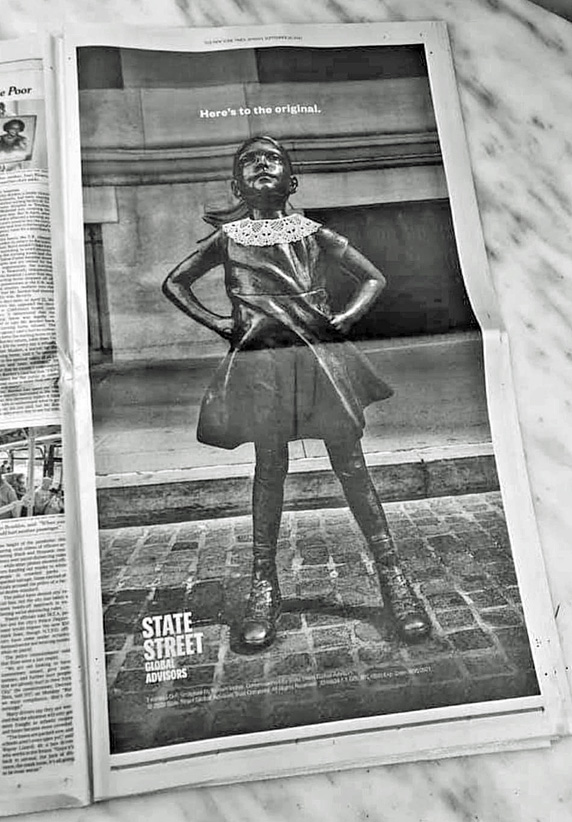 Seen+Noted: Here's to the original fearless girl