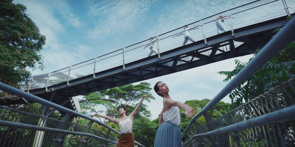 TBWA\Singapore unites Singapore's Dance Theatre and Symphony Orchestra in new campaign for the Singapore Tourism Board